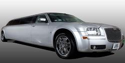 Chrysler 300 limousine (silver)