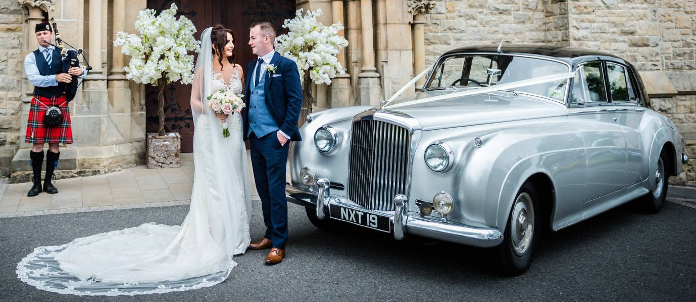 Glendale Limousines Premium Classic Wedding Car Hire in NI