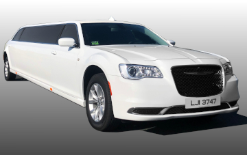 New Chrysler Stretch Limo - White