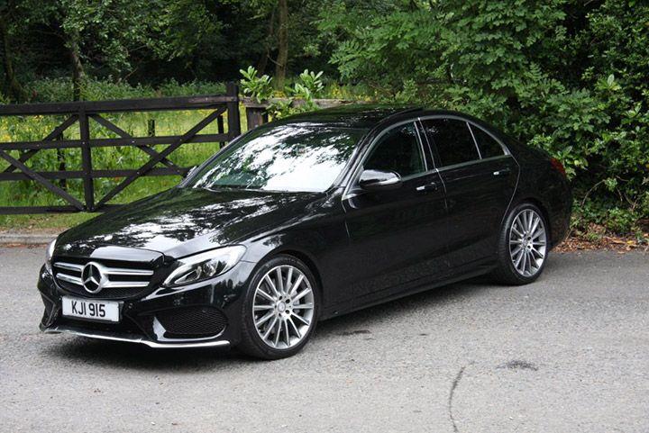 Mercedes C Class Wedding Saloon