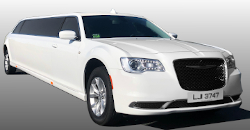 White Chrysler Limo - Latest